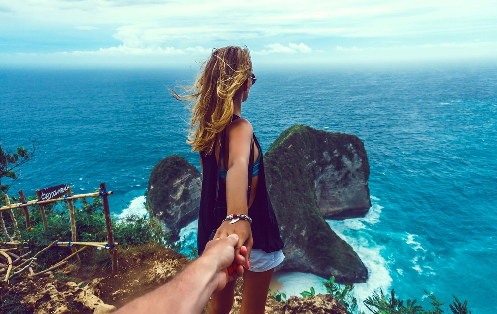 Young couple in Bali