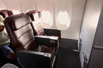Qantas B737-800 Business Class seat