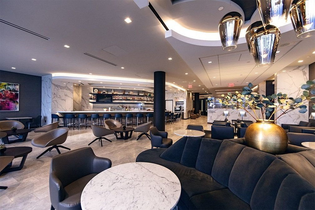 United Airlines Polaris Lounge LAX airport
