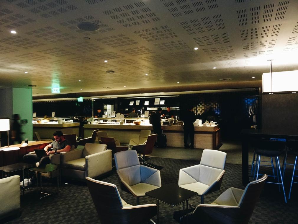 One World Star Alliance Lounge at LAX