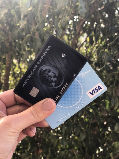 Amex and Visa points earning