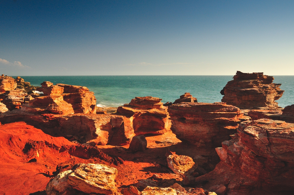 gantheaume point in Broome, Western Australia
