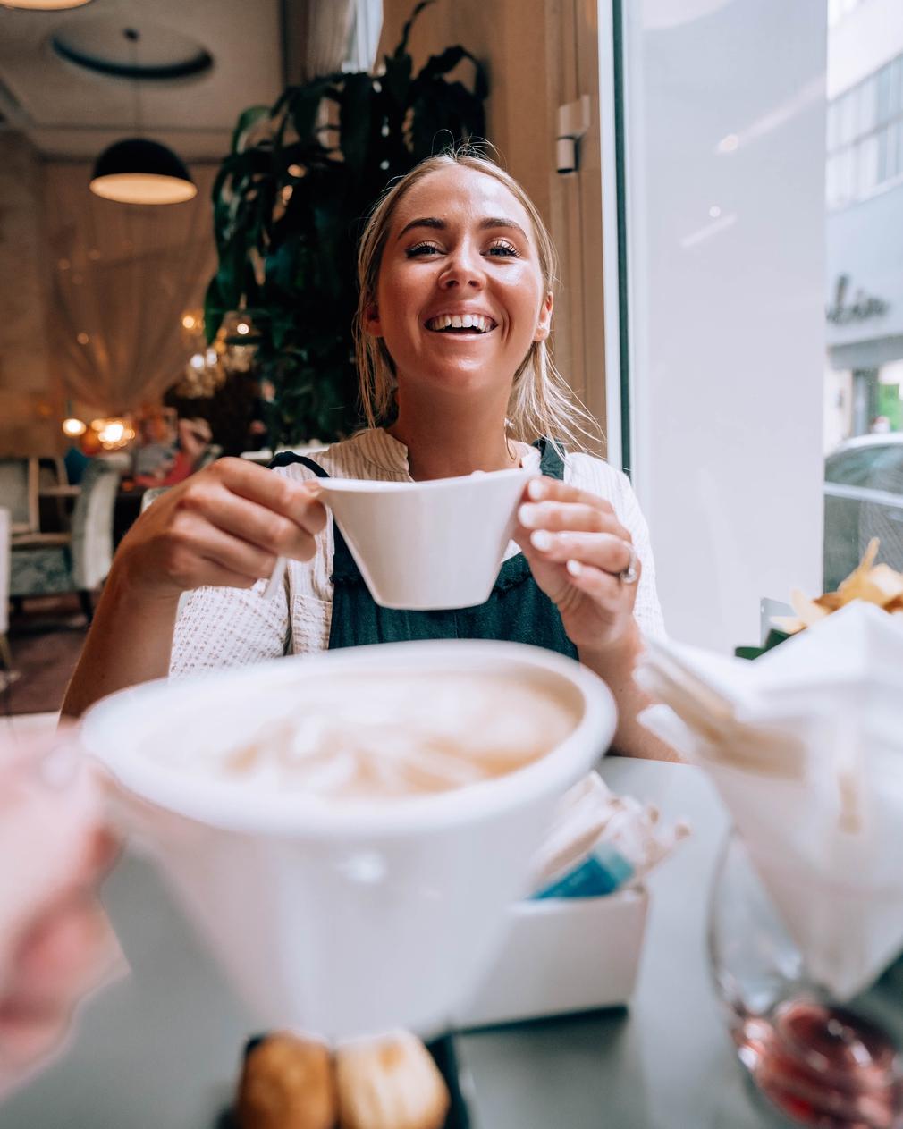 Coffee at Hotel de l'Opera Hanoi