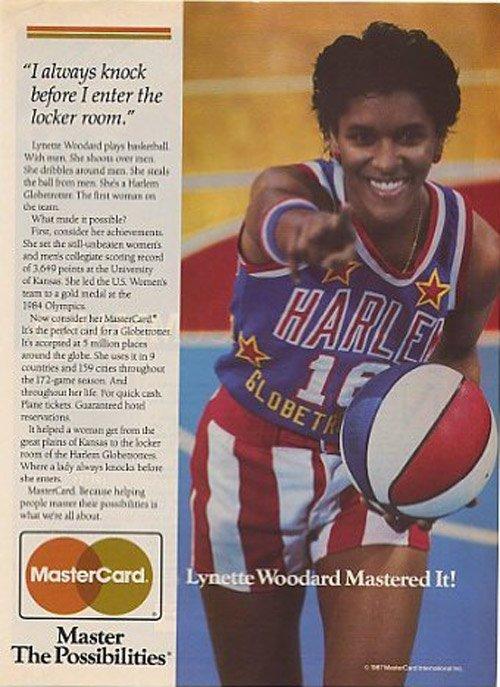 MasterCard ABC vintage credit card ad