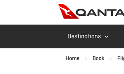 How to Get Around Qantas.com Booking Errors