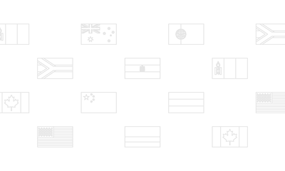 The Evolution of 10 Flags Around the World