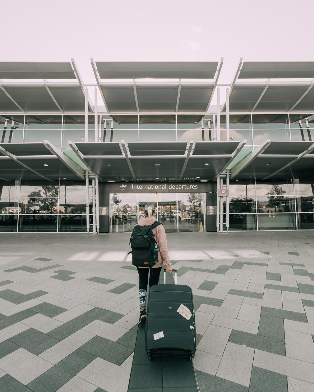International departures Perth