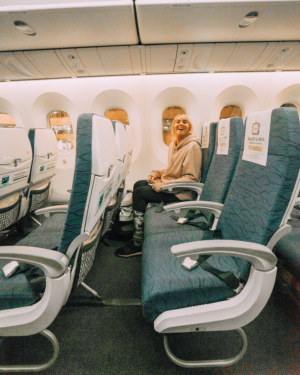 Scoot economy seats