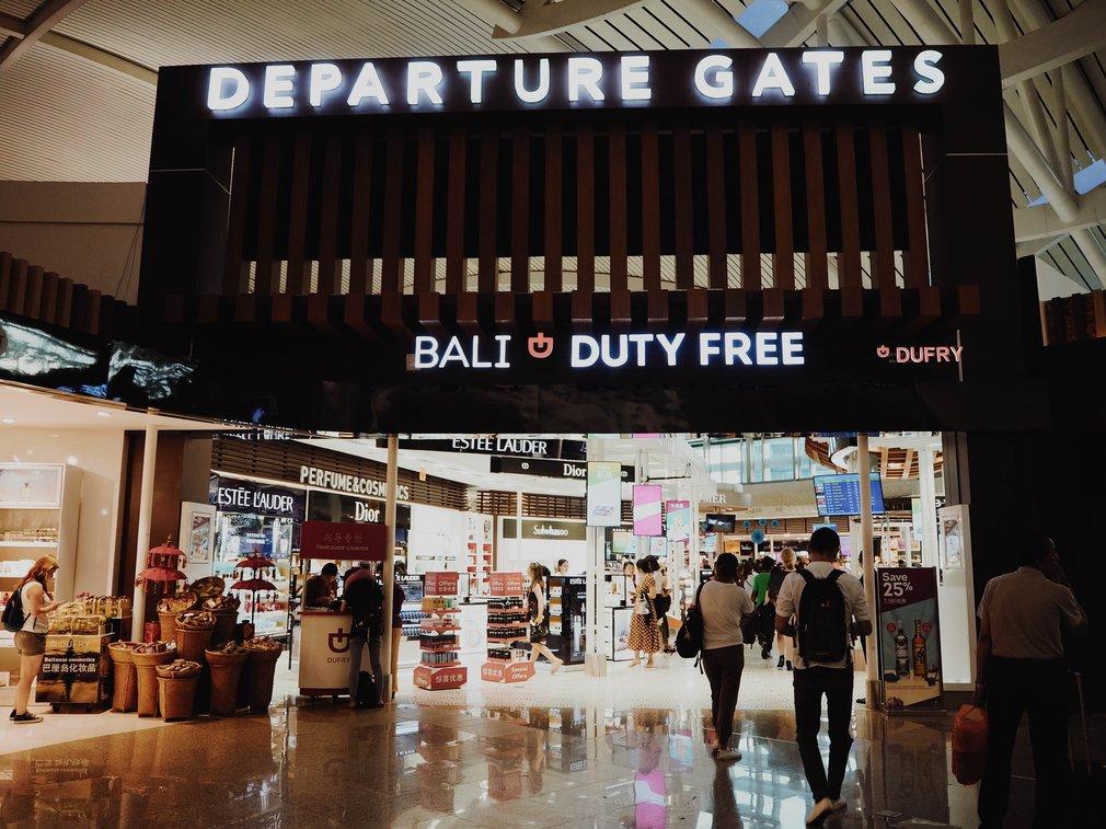 Denpasar airport gate