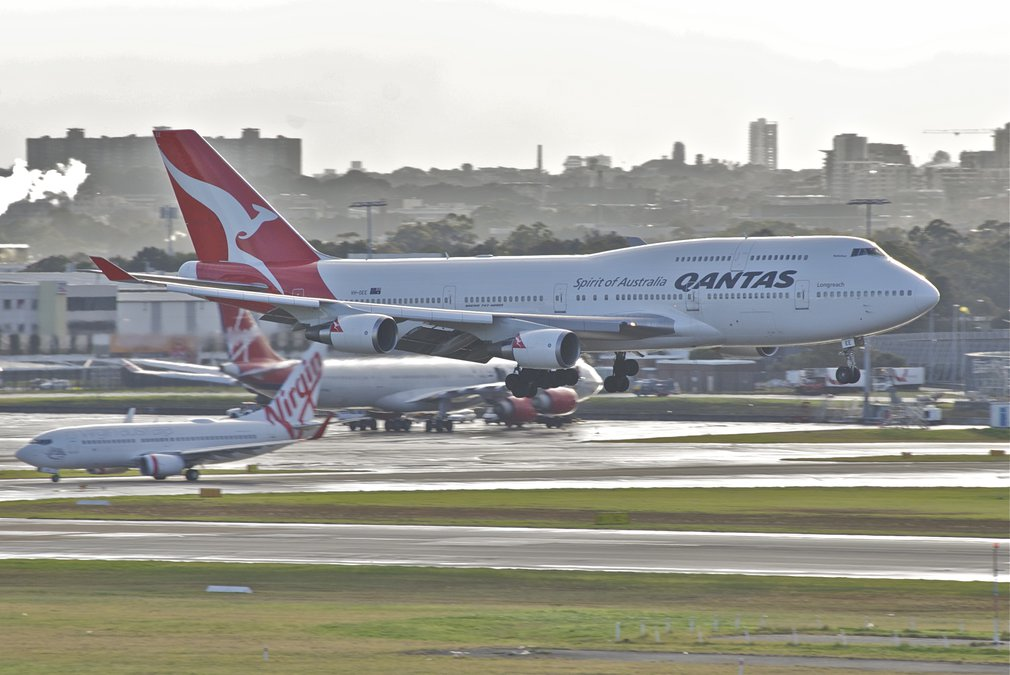 Qantas and Virgin
