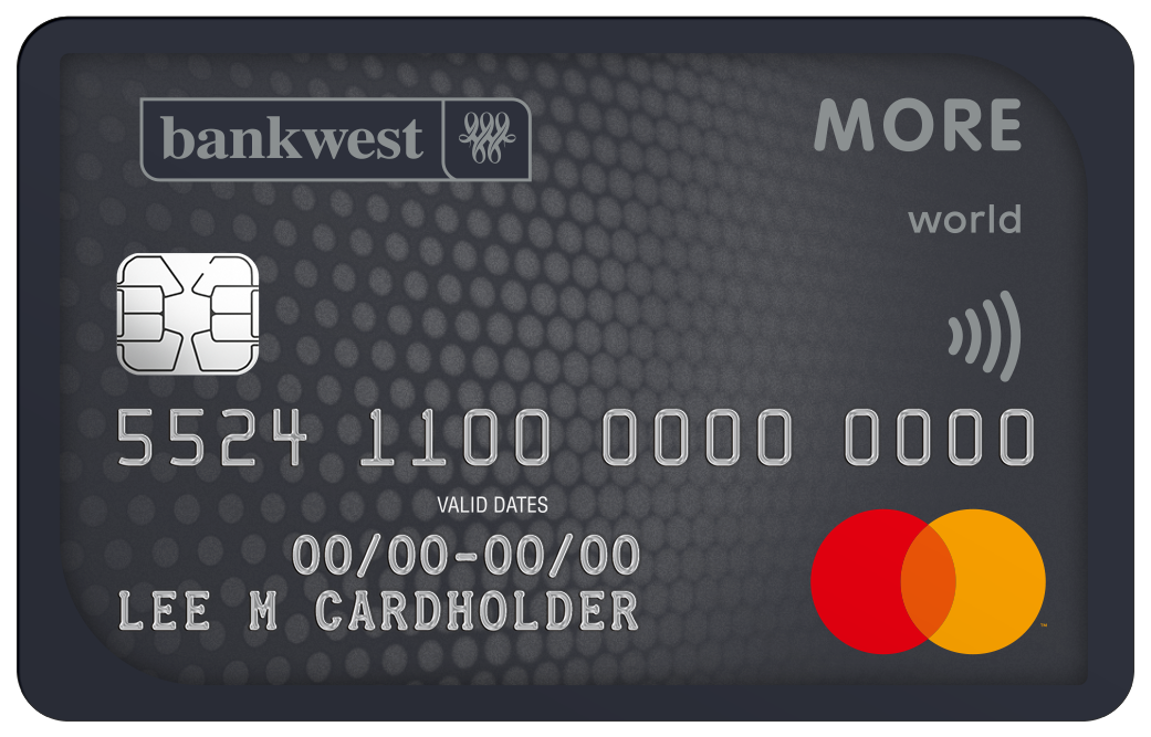 Bankwest More World Mastercard