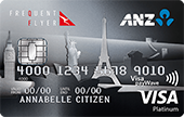 ANZ Frequent Flyer Platinum Credit Card