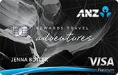 ANZ Rewards Travel Adventures Credit Card