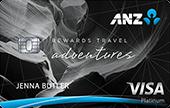 ANZ Rewards Travel Adventures Credit Card