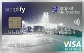 Bank of Melbourne Amplify Platinum Credit Card (Qantas)