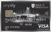 Bank of Melbourne Amplify Signature Credit Card Online Exclusive Offer (Amplify)