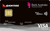 Bank Australia Platinum Rewards Visa Credit Card