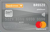 Bankwest Breeze Platinum Mastercard