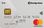 Bendigo Bank Low Rate First Mastercard