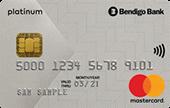 Bendigo Bank Low Rate Platinum Mastercard