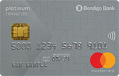 Bendigo Bank Platinum Rewards Mastercard