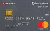 Bendigo Bank Qantas Platinum Mastercard