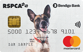 Bendigo Bank RSPCA Rescue Mastercard