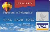 Big Sky Credit Union Credit Card with Cash Rewards