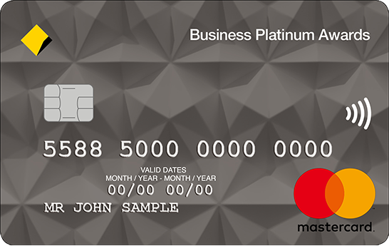 Commonwealth Bank Business Platinum Awards Credit Card
