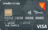 Credit Union SA Visa Credit Card