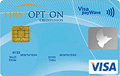 First Option CU Cash Rewards Visa Credit Card