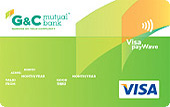 G&C Mutual Bank Low Rate Visa Credit Card