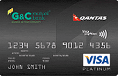 G&C Mutual Bank Platinum Visa Credit Card