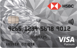 HSBC Platinum Credit Card Balance Transfer Offer