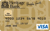 Heritage Gold Low Rate Credit Card