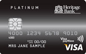 Heritage Platinum Credit Card