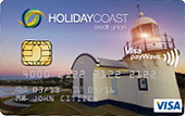 Holiday Coast CU Light Visa Credit Card