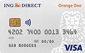 ING Direct Orange One Credit Card