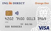 ING Direct Orange One Credit Card