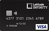 Latitude Infinity Rewards Card