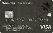 NAB Qantas Business Signature Card