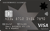 NAB Rewards Business Signature Card