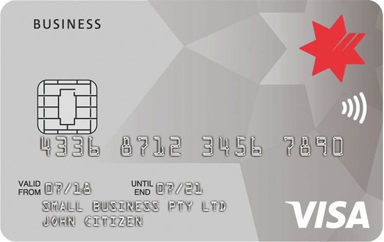 NAB Low Rate Business Card
