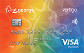 St.George Rainbow Vertigo Platinum Credit Card