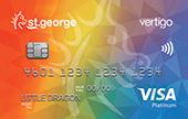 St.George Rainbow Vertigo Platinum Credit Card