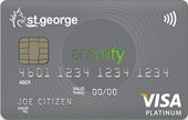St.George Amplify Platinum Credit Card (Amplify) Exclusive Offer