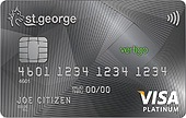 St.George Vertigo Platinum Credit Card Exclusive Offer