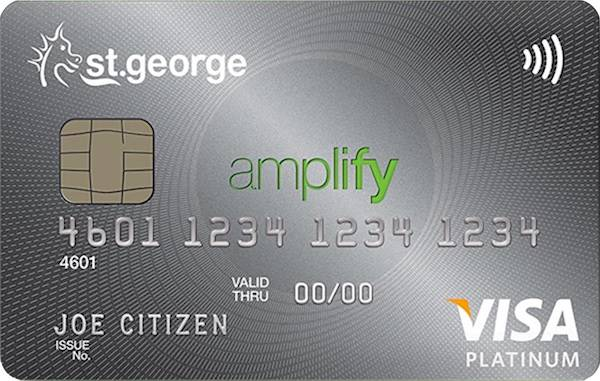 St.George Amplify Platinum Credit Card (Amplify Points)