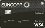 Suncorp Clear Options Platinum Credit Card