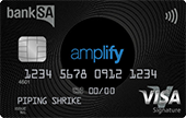 BankSA Amplify Signature Credit Card Online Exclusive Offer (Amplify)